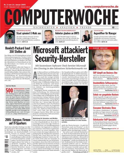 Microsoft attackiert Security-Hersteller