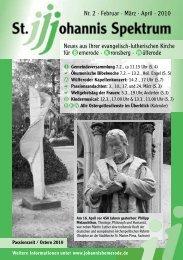 Heft Feb. - Apr. 2010 - St. Johannis Bemerode