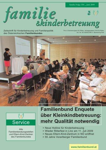 Eltern-Kind-Zentren - Familienbund