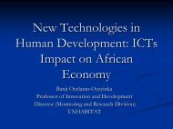 New Technologies in Human Development: ICTs ... - Practical Action