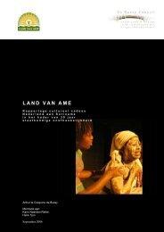 LAND VAN AME - De Bussy Consult