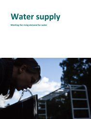 Water supply - Copenhagen Cleantech Cluster