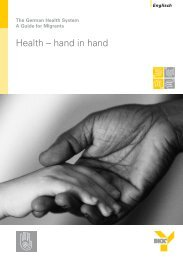 Health – hand in hand - Bkk-bv-gesundheit.de