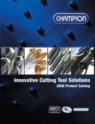 Champion cutting tools