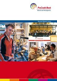Annual Report 2007 - ProCredit