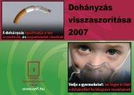 dohanyzas_2007.pdf (2.99MB) - Országos Egészségfejlesztési Intézet