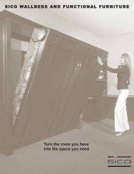 Wallbed Brochure - Sico Inc.