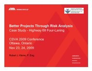 Better Projects Through Risk Analysis - Canadian Society of Value ...