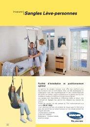 Invacare® Sangles Lève-personnes - Sofamed