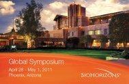 Global Symposium - BioHorizons
