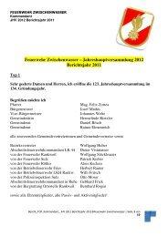 Bericht Kommandant jhv 2012 Berichtsjahr 2011