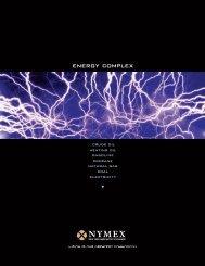 NYMEX Energy Complex - KIS Futures Inc