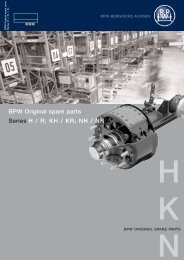 BPW Original spare parts Series H / R - Well Interparts Online