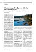 Wasserwirtschaft in Bayern - aktuelle Herausforderungen - Seite 4