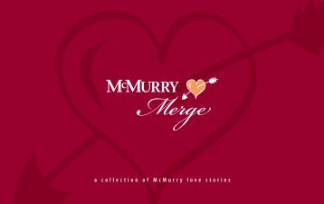 My love for you is a journey; Starting - McMurry University