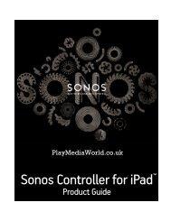 Sonos iPad User Guide.book - i-Homes Atlanta