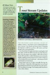 2181 Trout Stream Updates--North Central Minnesota - webapps8