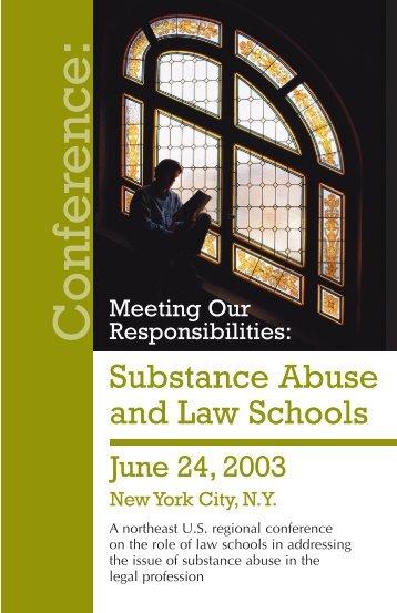 Agenda - New York Lawyer Assistance Trust