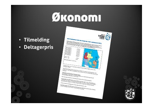 Download præsentation om økonomi og tilmelding - Leder - FDF