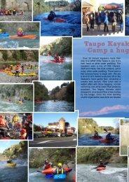 Taupo kayaking development camp a huge success