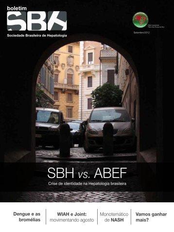 SBH vs. ABEF - Sociedade Brasileira de Hepatologia
