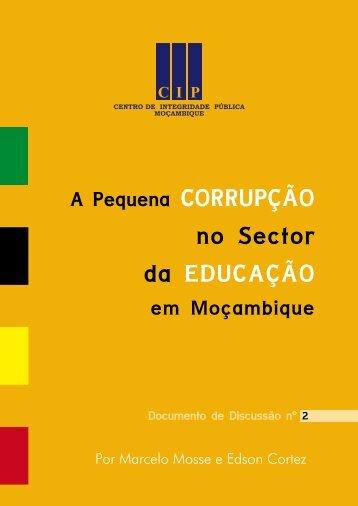 A pequena Corrupção na Educação.pdf - CIP