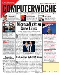 Microsoft rBt zu Suse Linuχ
