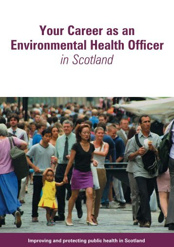 Your Career as an Environmental Health Officer in Scotland