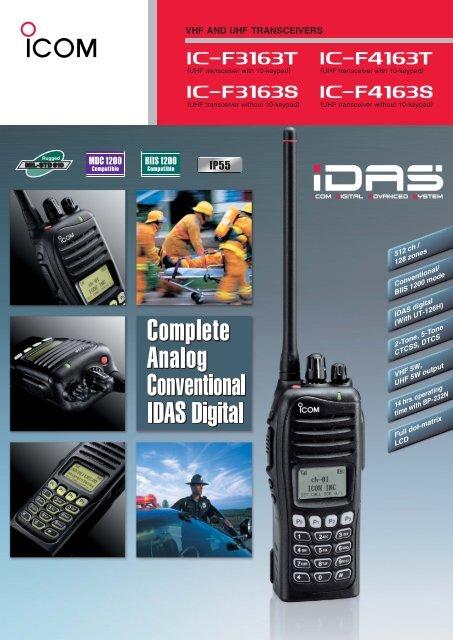 NEW ICOM UT-126H IDAS Digital Unit