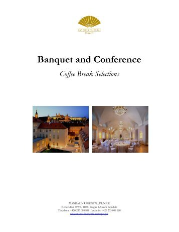 Banquet and Conference