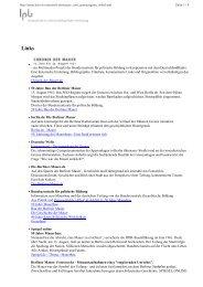 - ein Multimedia-Projekt der Bundeszentrale für politische Bildung in ...