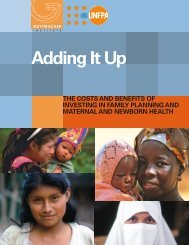 Adding It Up - The Costs and Benefits of Investing in Family ... - UNFPA