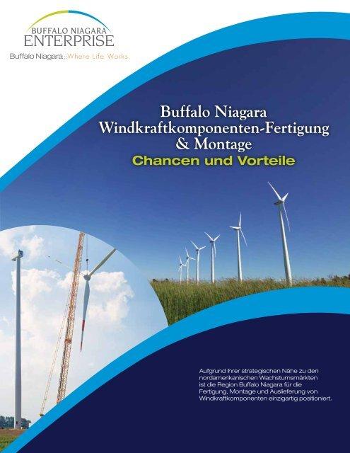 Buffalo Niagara Windkraftkomponenten-Fertigung & Montage