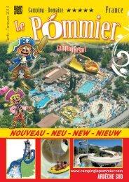 NOUVEAU - NEU - NEW - NIEUW - Camping Domaine Le Pommier