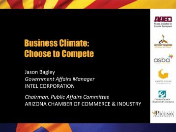 Business Climate: Choose to Compete - Phoenix Chamber of ...