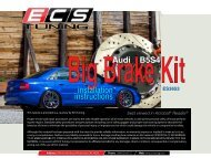 installation instructions Audi B5S4