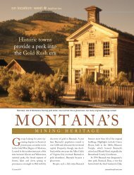 MONTANA'S - Leisure Group Travel