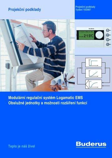 Projekční podklady Modulární regulační systém ... - Buderus