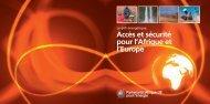 Accès et sécurité pour l'Afrique et l'Europe