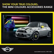 show your true colours. the mini colours accessories range