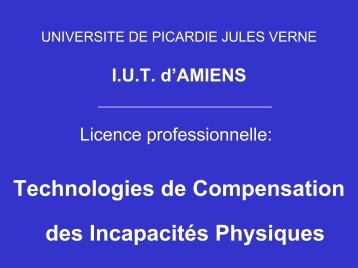 Licence professionnelle: - IFRATH