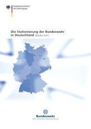 Die Stationierung der Bundeswehr in Deutschland
