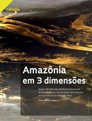 amazônia - Revista Pesquisa FAPESP