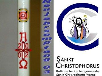 Jahresrückblick 2002 - Pfarramt St. Christophorus