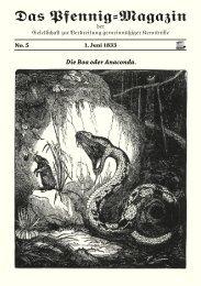 Das Pfennig-Magazin – No. 5 (Ausgabe vom 1. Juni 1833) - Igelity