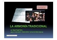 Evolución de la Didáctica de la Armonía Tradicional - Miguel Angel ...