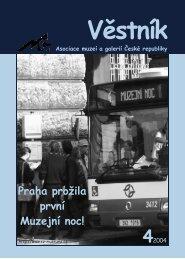 Věstník AMG 4/2004 - Asociace muzeí a galerií České republiky