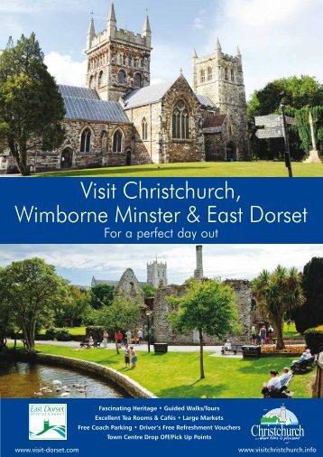 East Dorset Group Travel Guide - Visit Dorset