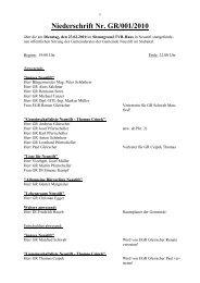 01 vom 23. Feburar 2010 (164 KB) - .PDF - Neustift im Stubaital