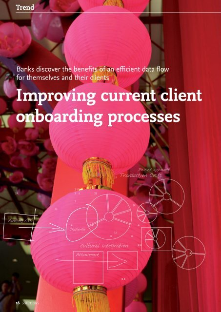 Improving current client onboarding processes - solutionproviders